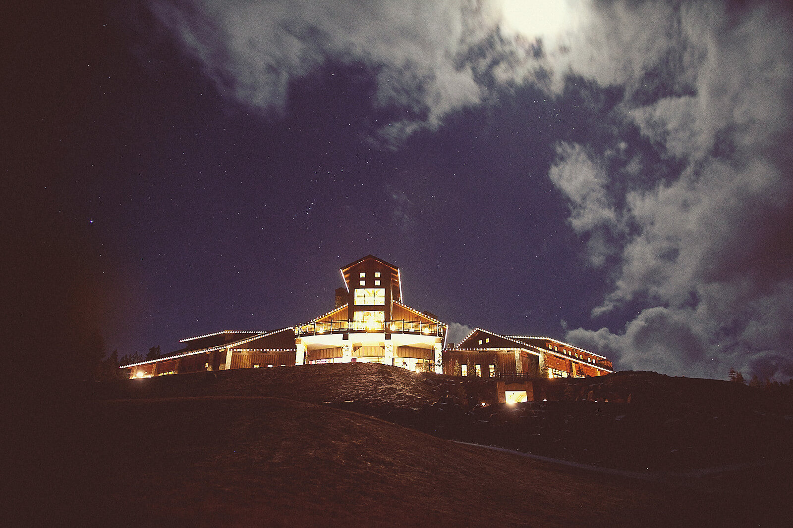 original night time winery picture